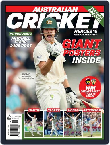 Australian Cricket Heroes October 29th, 2013 Digital Back Issue Cover