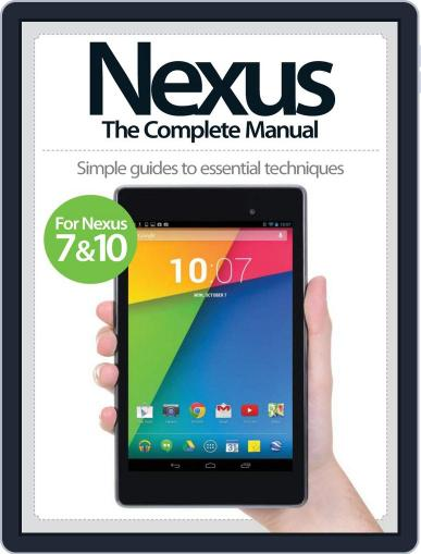 Nexus: The Complete Manual November 5th, 2013 Digital Back Issue Cover