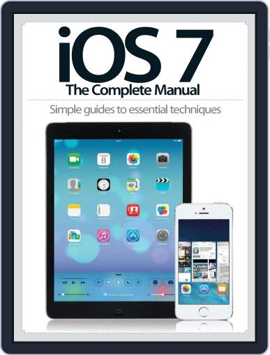 iOS7: The Complete Manual Magazine (Digital) January 16th, 2014 Issue Cover