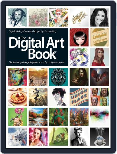 The Digital Art Book February 3rd, 2014 Digital Back Issue Cover