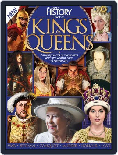 All About History Book of Kings & Queens December 1st, 2016 Digital Back Issue Cover