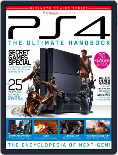 The Ultimate PS4 Handbook Magazine (Digital) May 16th, 2014 Issue Cover