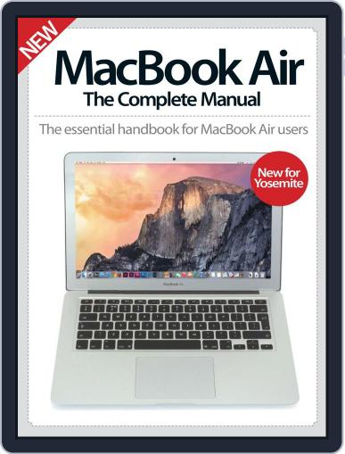 MacBook Air The Complete Manual Magazine (Digital) December 3rd, 2014 Issue Cover