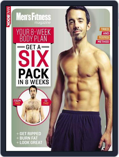 Men's Fitness Get a Six Pack in 8 Weeks July 18th, 2014 Digital Back Issue Cover