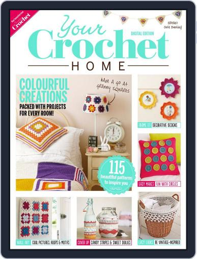 Your Crochet Home August 5th, 2014 Digital Back Issue Cover