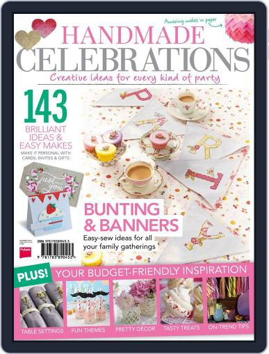 Handmade Celebrations Magazine (Digital) August 5th, 2014 Issue Cover