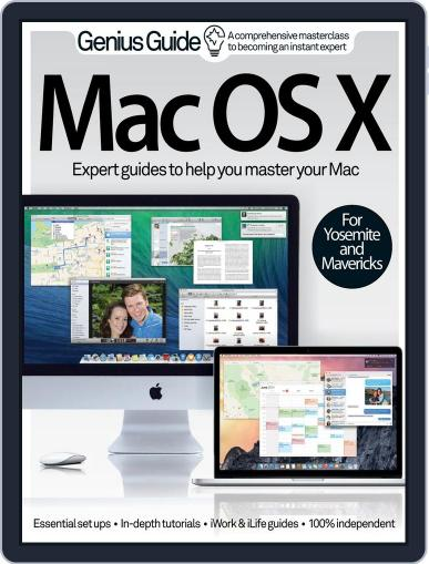 Mac OS X Genius Guide Volume 1 August 13th, 2014 Digital Back Issue Cover
