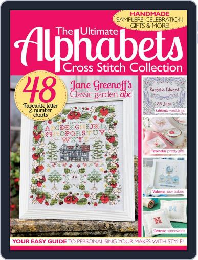 The Ultimate Alphabets Cross Stitch Collection Magazine (Digital) September 10th, 2014 Issue Cover