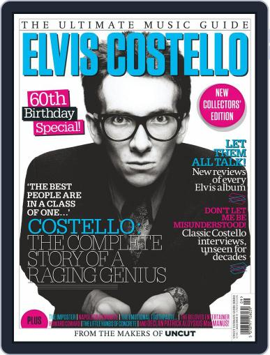 Elvis Costello - The Ultimate Music Guide September 25th, 2014 Digital Back Issue Cover