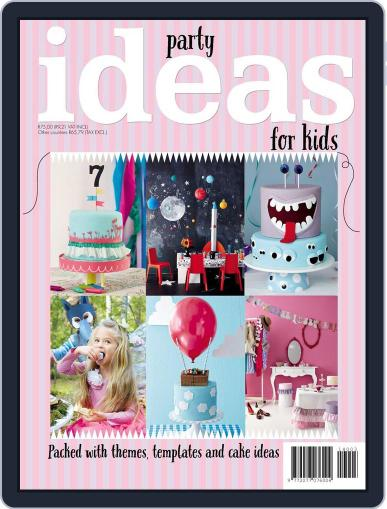 Ideas Kid's Party Magazine (Digital) October 12th, 2014 Issue Cover