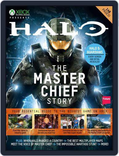 Halo: The Master Chief Story October 8th, 2014 Digital Back Issue Cover