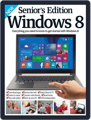 Seniors Edition Windows 8 September 2nd, 2015 Digital Back Issue Cover