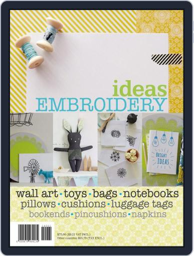 Ideas Embroidery Magazine (Digital) December 10th, 2014 Issue Cover
