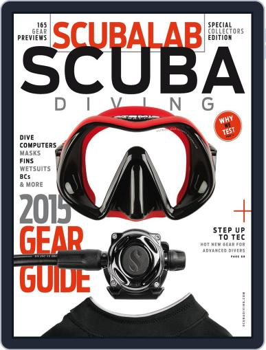 2015 ScubaLab Gear Guide Magazine (Digital) March 30th, 2015 Issue Cover