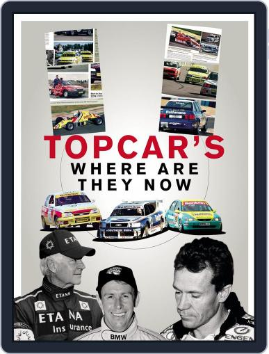 TopCar's Where are they now? May 6th, 2015 Digital Back Issue Cover