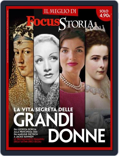 Focus Storia LE GRANDI DONNE June 9th, 2015 Digital Back Issue Cover