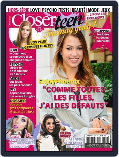 Closer Teen HS Magazine (Digital) November 23rd, 2015 Issue Cover