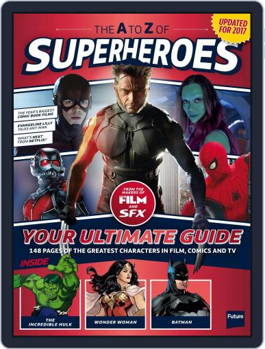 The A To Z Of Superheroes April 1st, 2017 Digital Back Issue Cover