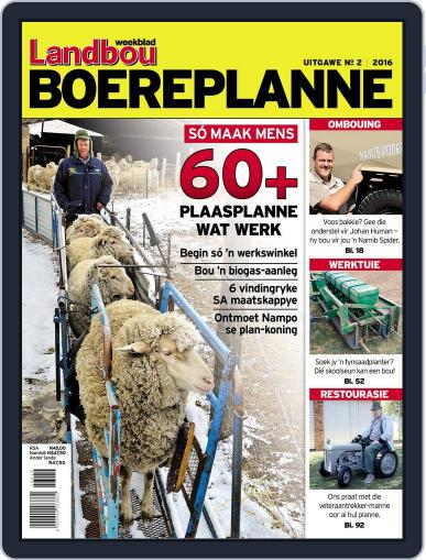 Landbou Boereplanne Magazine (Digital) September 1st, 2016 Issue Cover