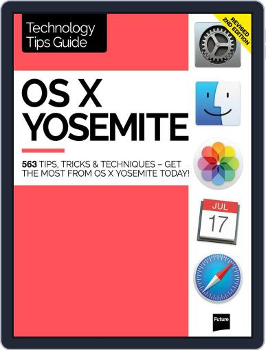 OS X Yosemite Technology Tips Guide Magazine (Digital) July 29th, 2015 Issue Cover