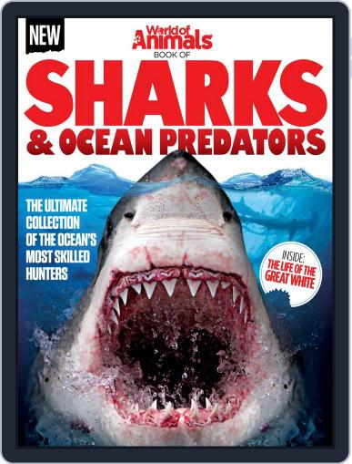 World of Animals Book of Sharks & Ocean Predators Vol 1 Magazine (Digital) September 2nd, 2015 Issue Cover