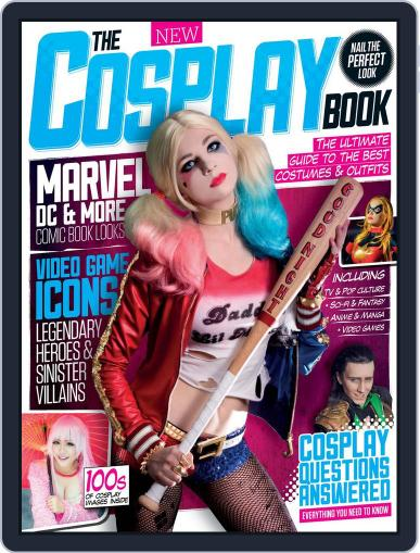 The Cosplay Book April 1st, 2016 Digital Back Issue Cover