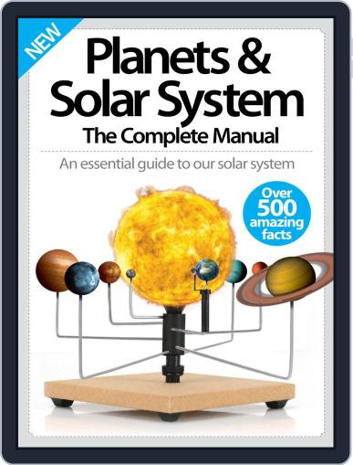 Planets & Solar System The Complete Manual April 1st, 2016 Digital Back Issue Cover