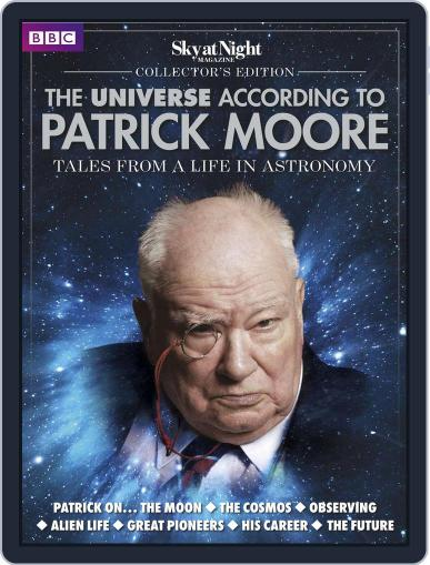 The Universe According to Patrick Moore May 1st, 2016 Digital Back Issue Cover
