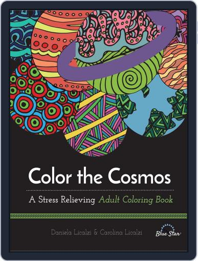 Color the Cosmos: A Stress Relieving Adult Coloring Book July 1st, 2016 Digital Back Issue Cover