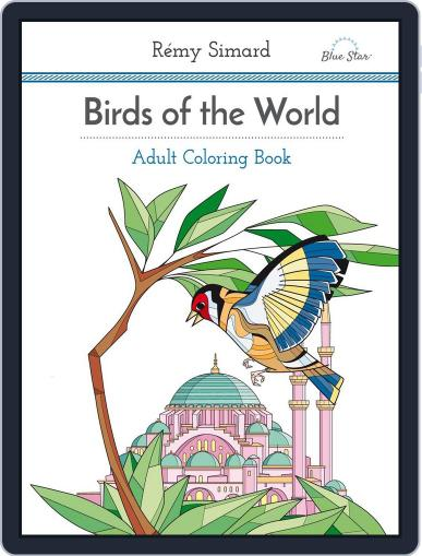 Adult Coloring Book: Birds of the World July 1st, 2016 Digital Back Issue Cover