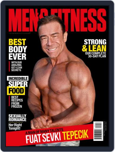 Men's Fitness South Africa Magazine (Digital) March 1st, 2021 Issue Cover