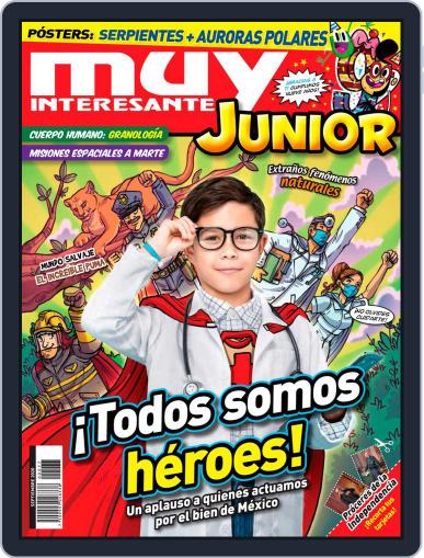 Muy Interesante Junior Mexico Magazine (Digital) September 1st, 2020 Issue Cover