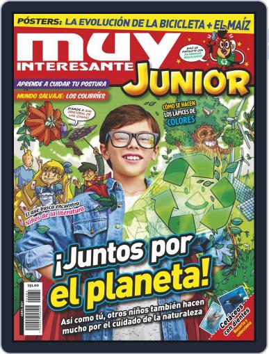 Muy Interesante Junior Mexico Magazine (Digital) April 1st, 2021 Issue Cover
