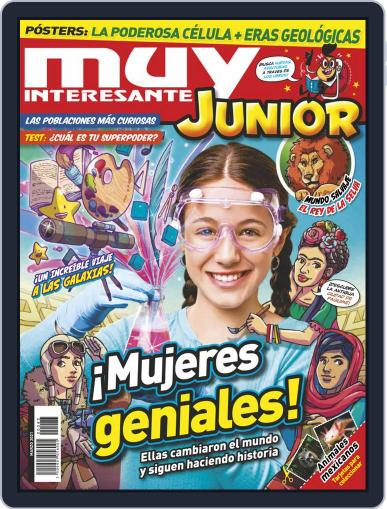 Muy Interesante Junior Mexico Magazine (Digital) March 1st, 2021 Issue Cover