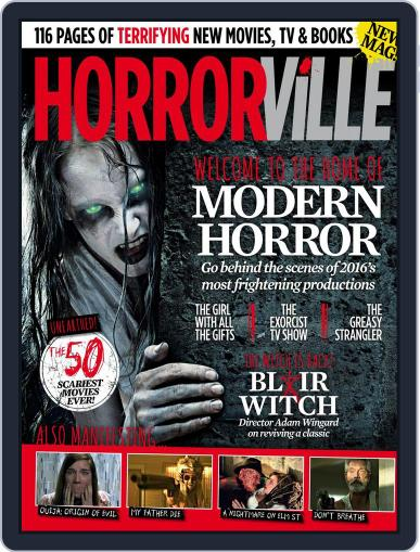 Horrorville Issue 1 Magazine (Digital) August 31st, 2016 Issue Cover