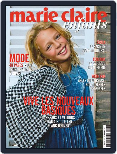 Marie Claire Enfants Magazine (Digital) September 1st, 2020 Issue Cover