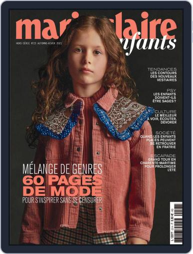 Marie Claire Enfants Magazine (Digital) October 1st, 2021 Issue Cover