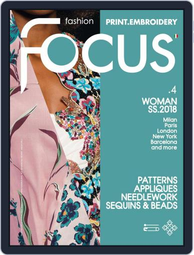 FASHION FOCUS WOMAN PRINT.EMBROIDERY March 1st, 2018 Digital Back Issue Cover