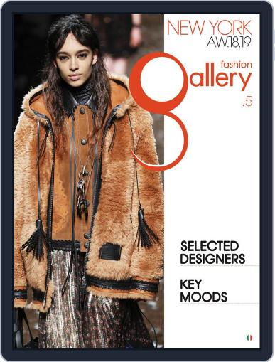 FASHION GALLERY NEW YORK (Digital) April 23rd, 2018 Issue Cover
