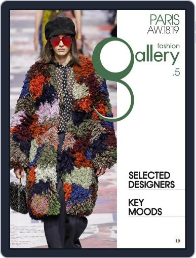 FASHION GALLERY PARIS (Digital) April 23rd, 2018 Issue Cover