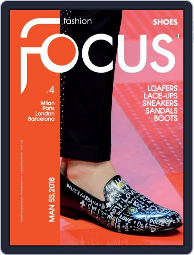 FASHION FOCUS MAN SHOES February 2nd, 2018 Digital Back Issue Cover