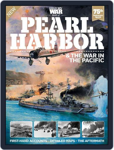 History Of War Book Of Pearl Harbor September 30th, 2016 Digital Back Issue Cover
