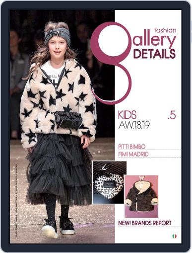 FASHION GALLERY KIDS (Digital) April 23rd, 2018 Issue Cover