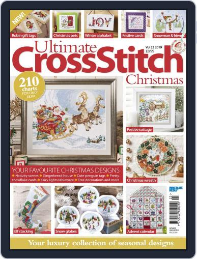 Ultimate Cross Stitch Christmas October 22nd, 2019 Digital Back Issue Cover