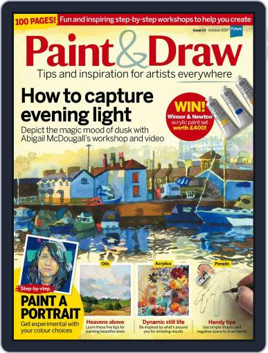 Paint & Draw October 1st, 2017 Digital Back Issue Cover