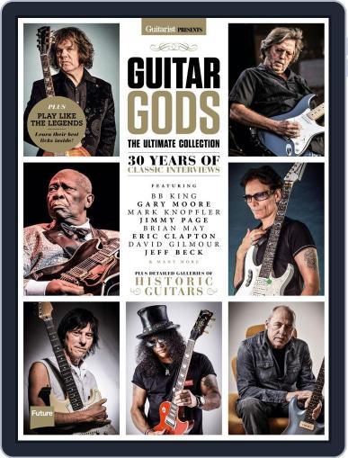 Guitarist Presents: Guitar Gods September 30th, 2016 Digital Back Issue Cover