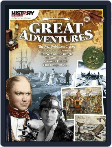 Great Adventures September 30th, 2016 Digital Back Issue Cover