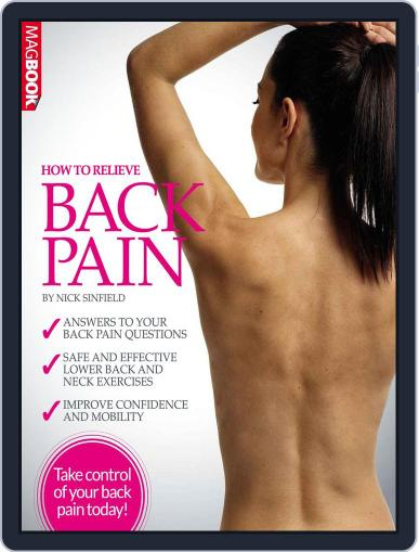 How To Relieve Back Pain September 30th, 2016 Digital Back Issue Cover