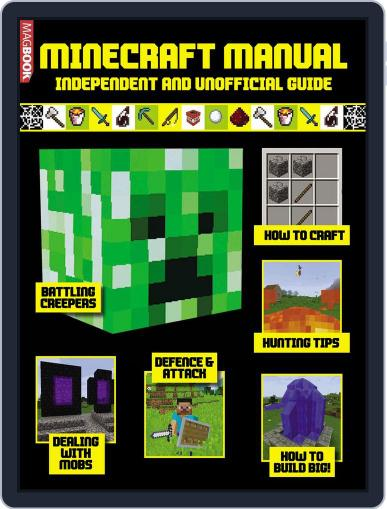 Minecraft Manual September 30th, 2016 Digital Back Issue Cover