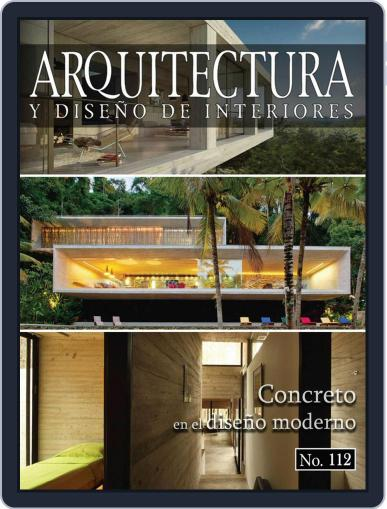 Arquitectura y diseño de interiores February 1st, 2018 Digital Back Issue Cover